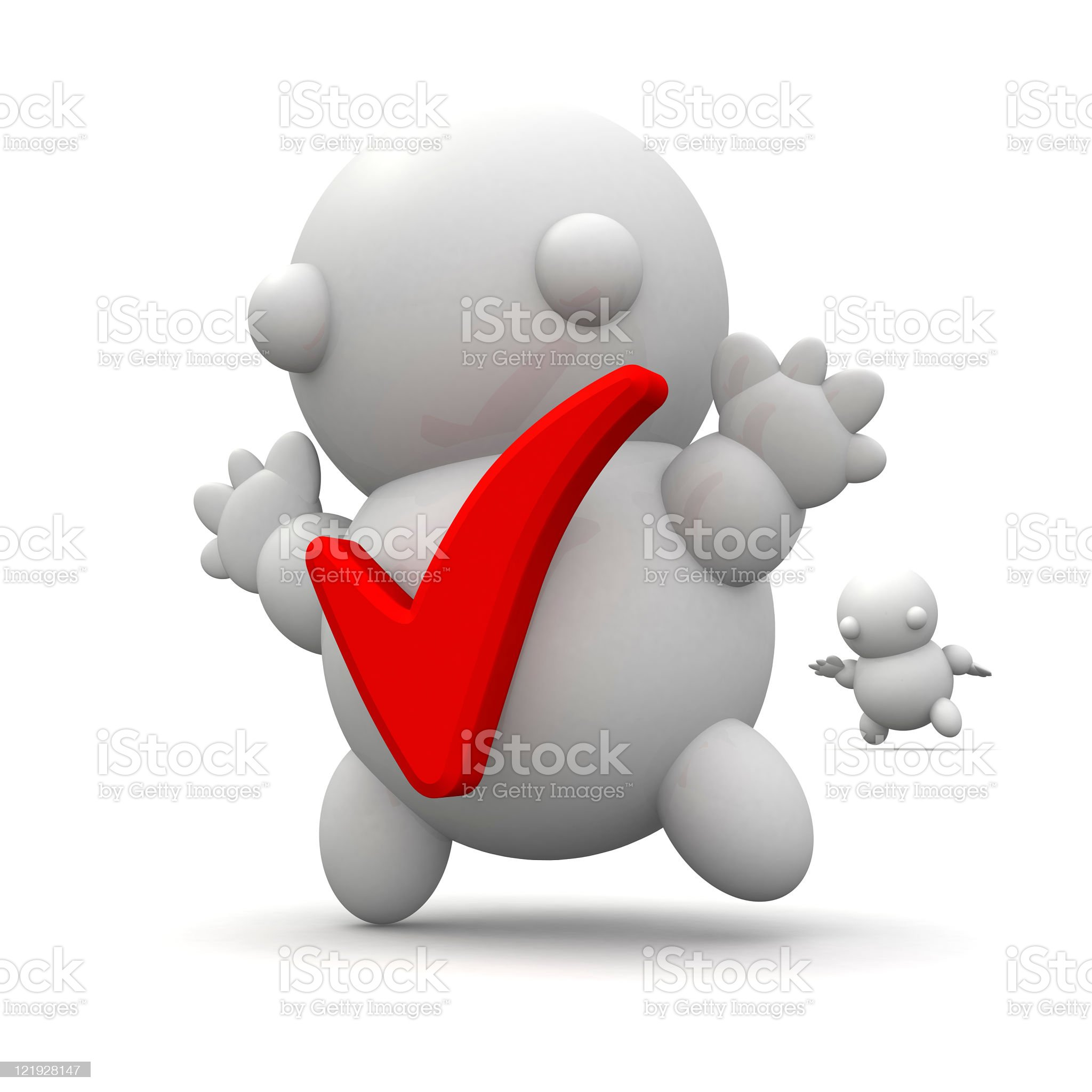 Approved Person royalty-free stock photo
