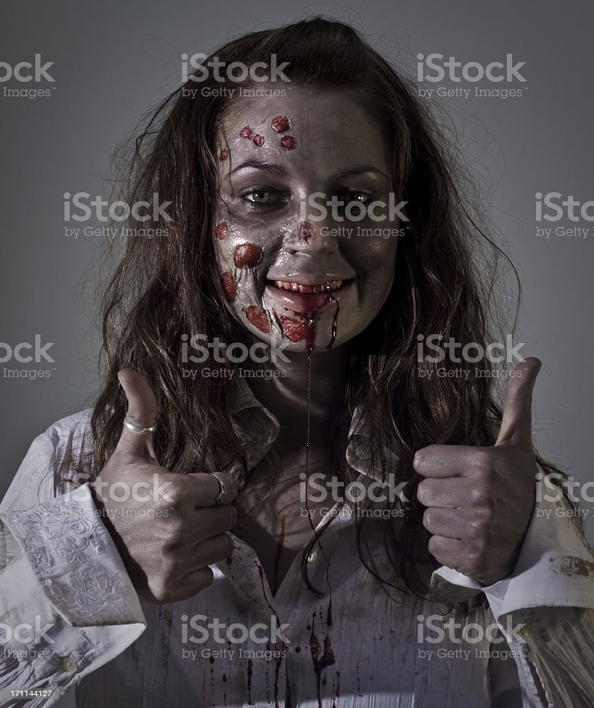 approving zombie stock photo