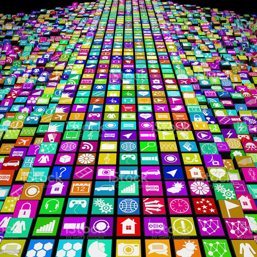 Apps stock photo