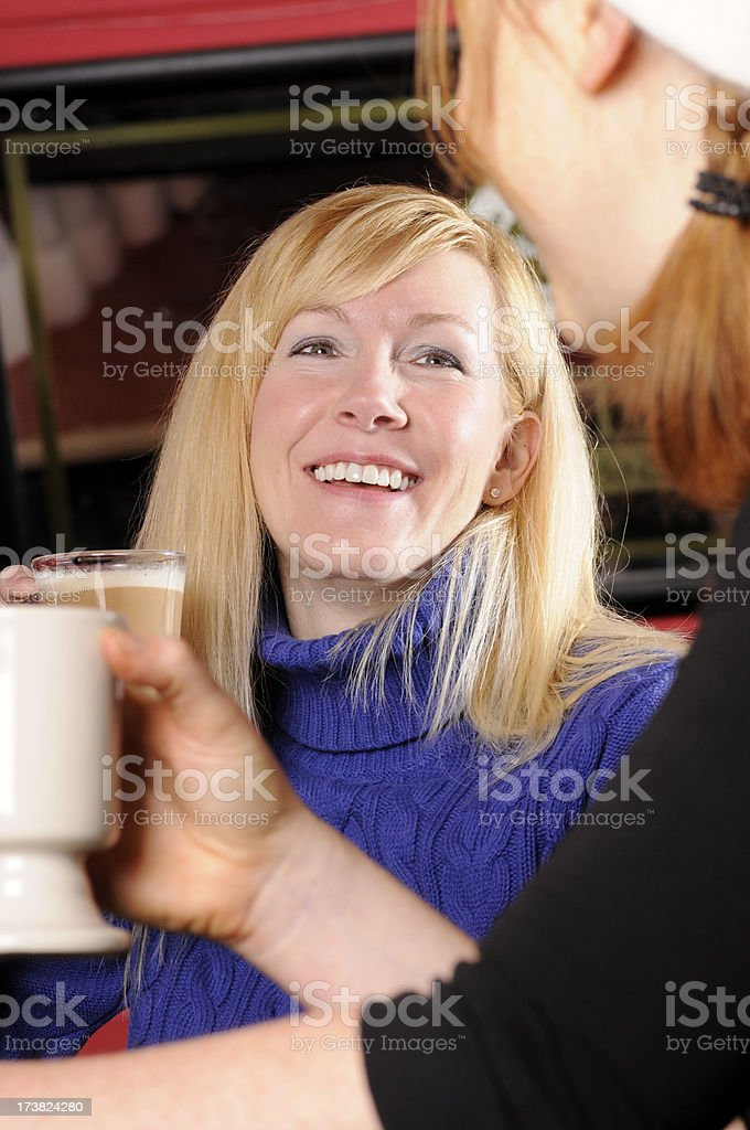 Apres Ski - Laughing Women royalty-free stock photo