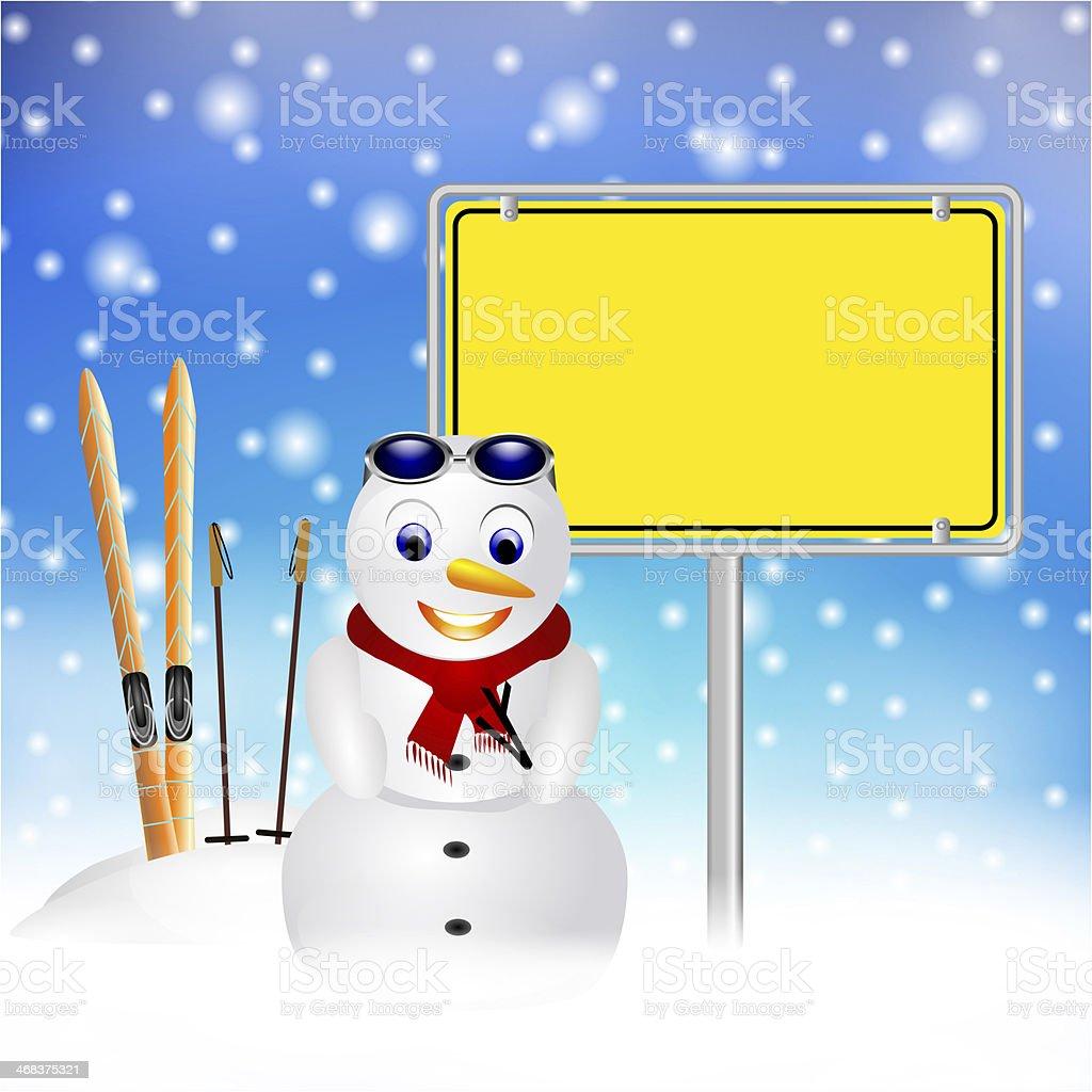 apres ski party in snow stock photo