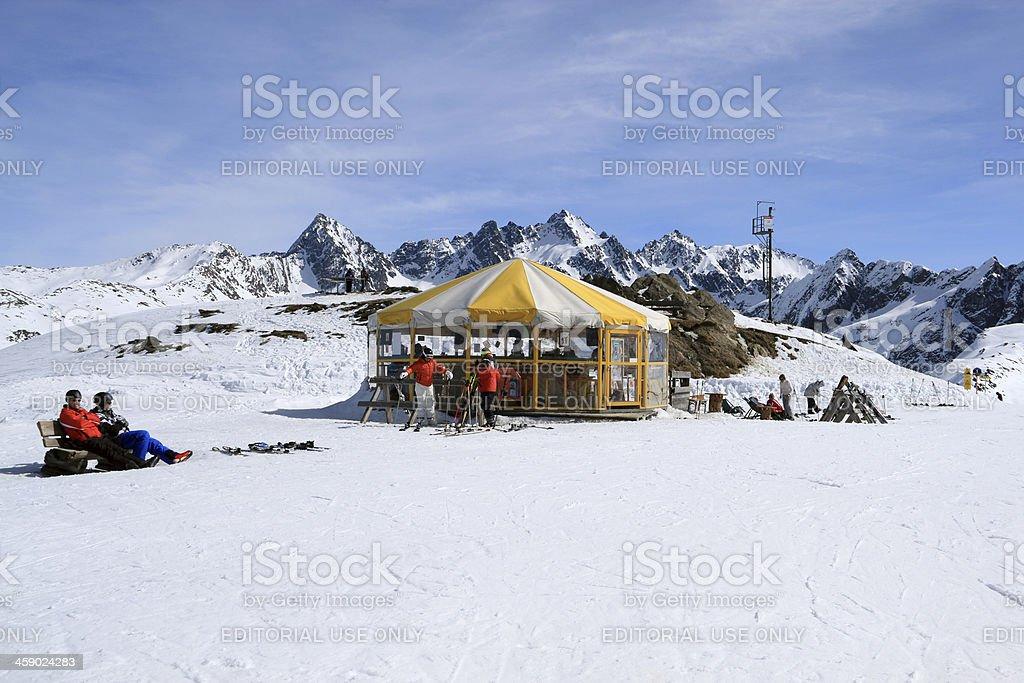 Apres Ski stock photo