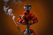 Apricot aroma hookah