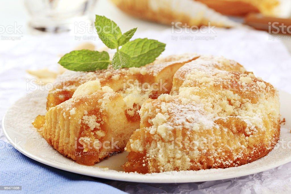 Абрикосовый пирог Стоковые фото Стоковая фотография