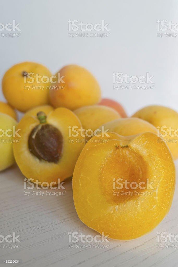 Apricot. royalty-free stock photo