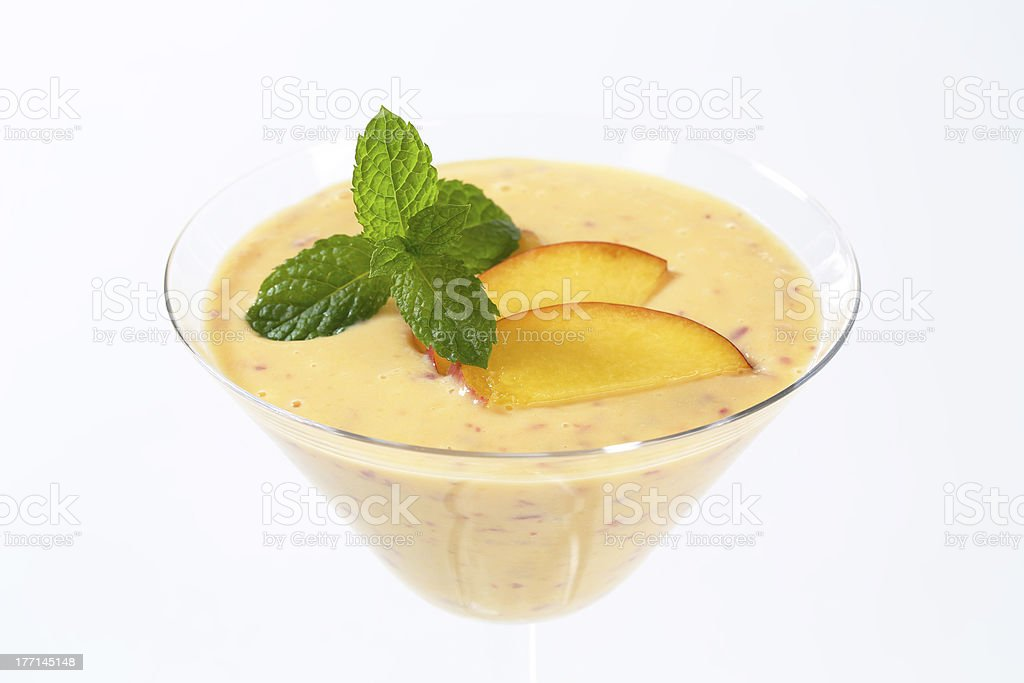 apricot purée royalty-free stock photo
