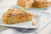 Apricot Streusel Cake