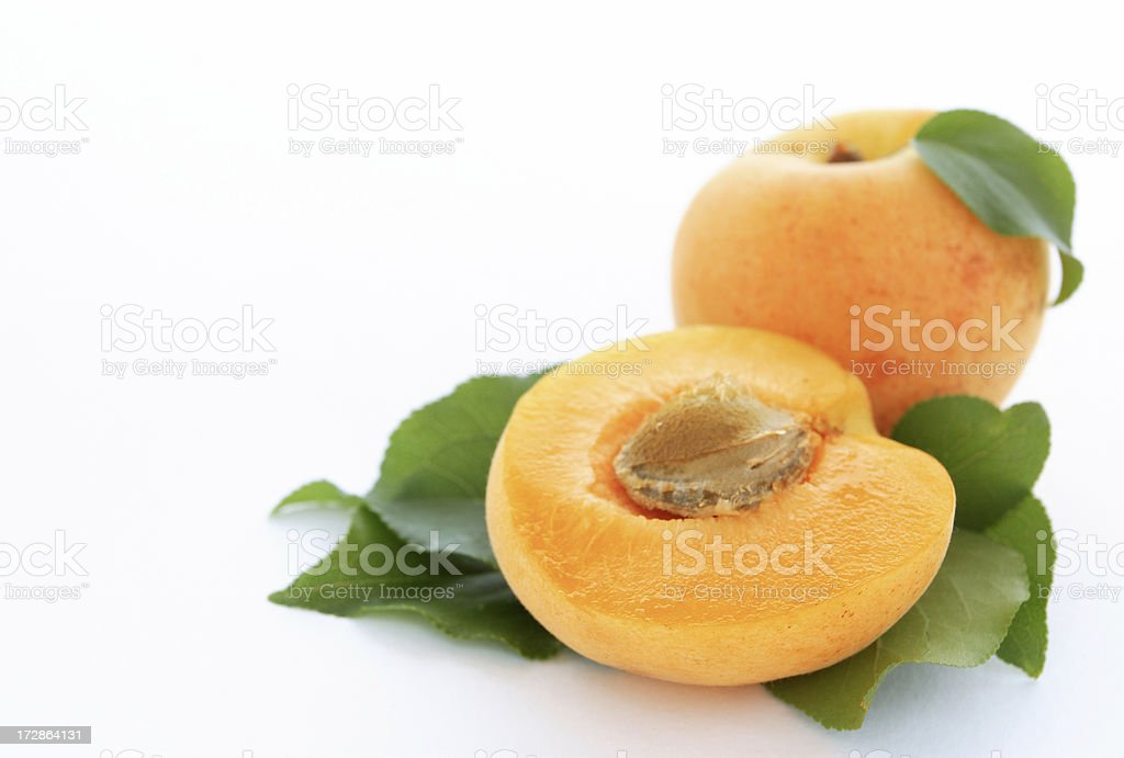 Apricots. royalty-free stock photo