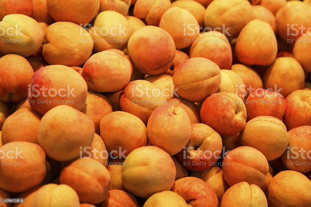 Apricots royalty-free stock photo