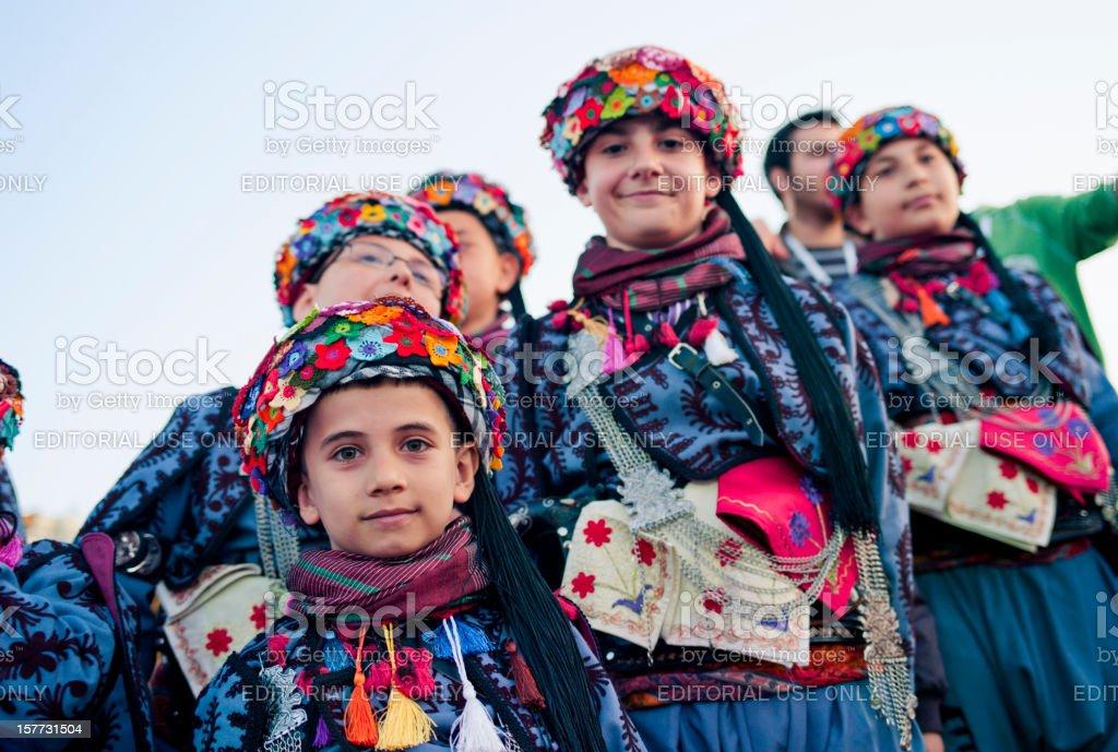 April 23 International Children's Day in Turkey stock photo