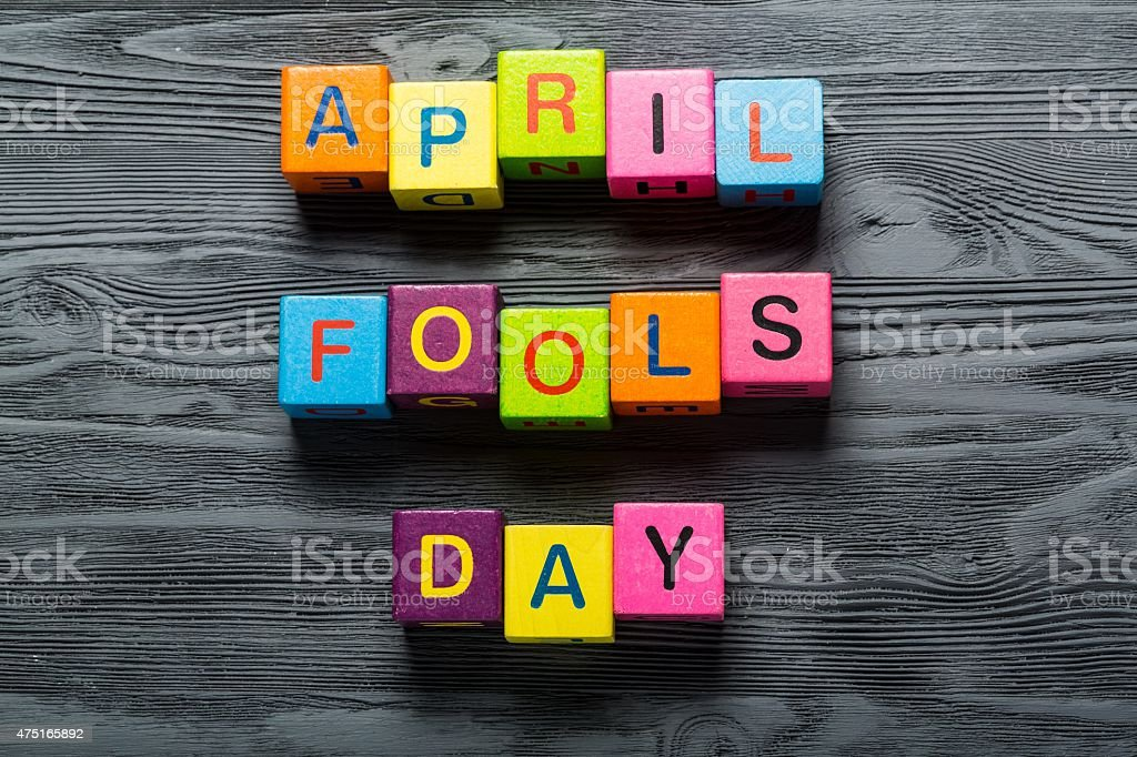 April, fools, fool stock photo