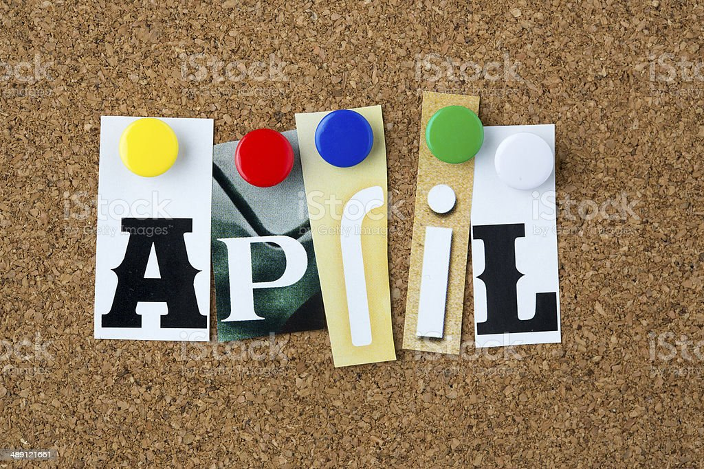April royalty-free stock photo