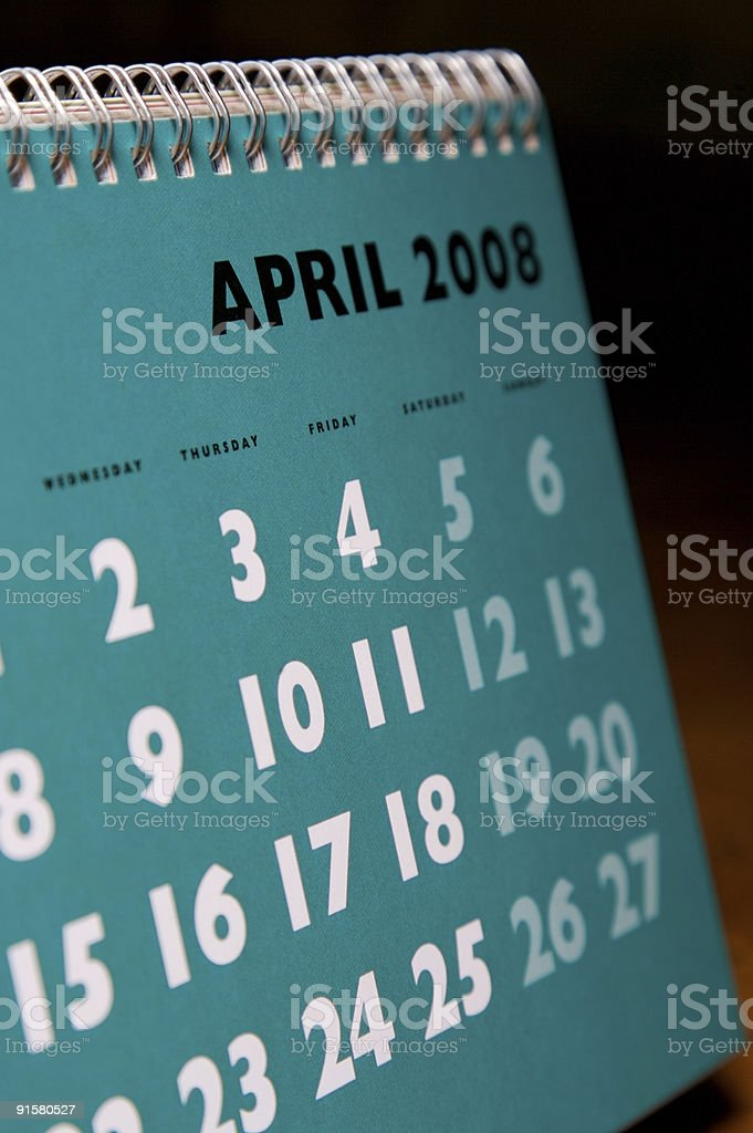 April... royalty-free stock photo