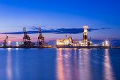 April21, 2016 - NOBLEglobetrotterII - Drill ship - Burgas, Bulgaria