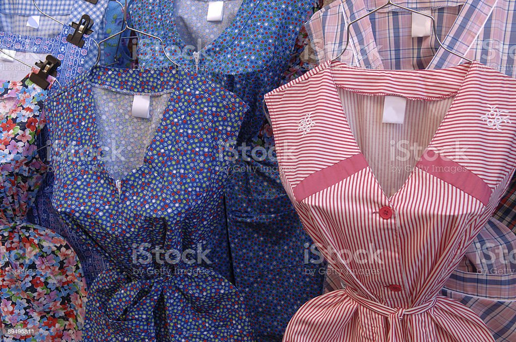 Apron dresses royalty-free stock photo