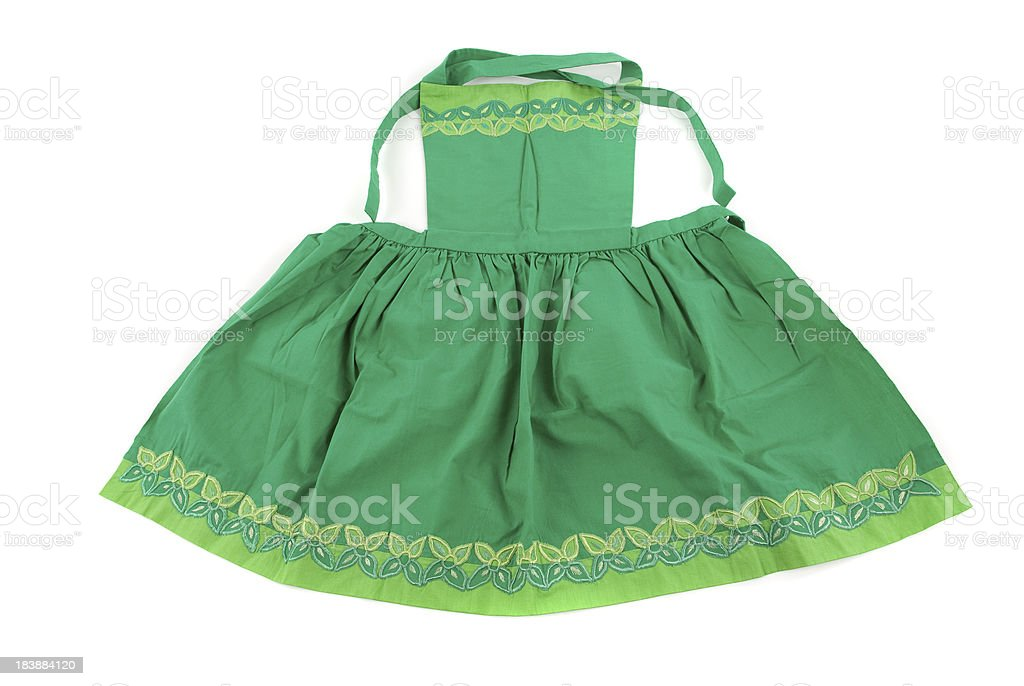 Apron royalty-free stock photo
