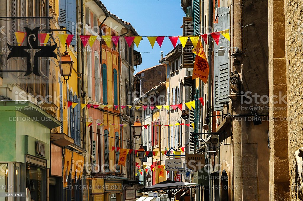 Apt (Provence, France) stock photo