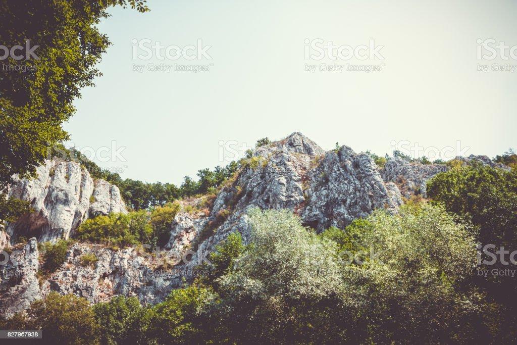 Apuseni mountains of Vadu Crisului, Bihor, Romania stock photo