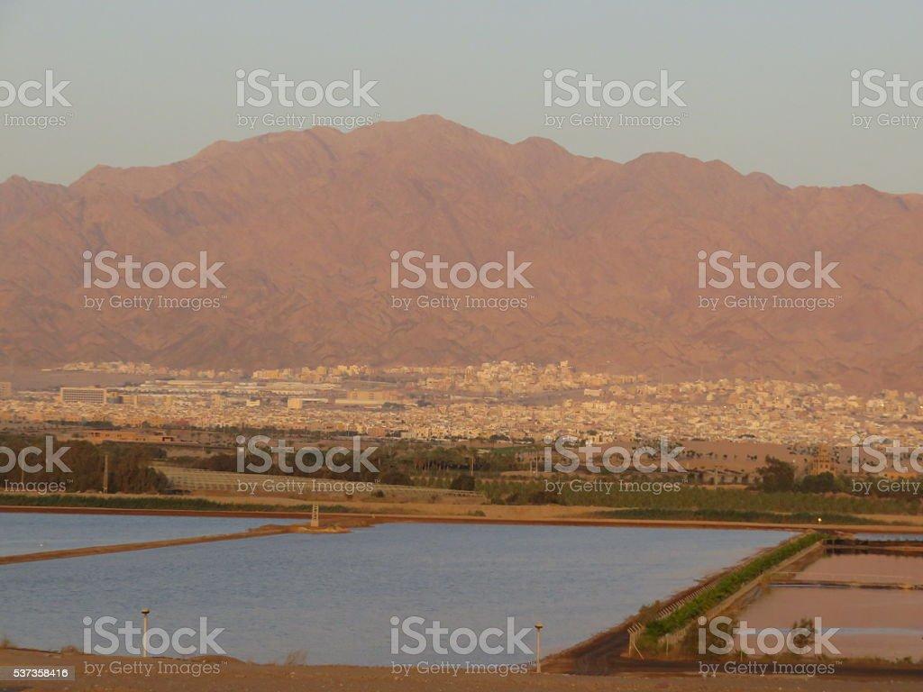 Aqaba, Jordan stock photo