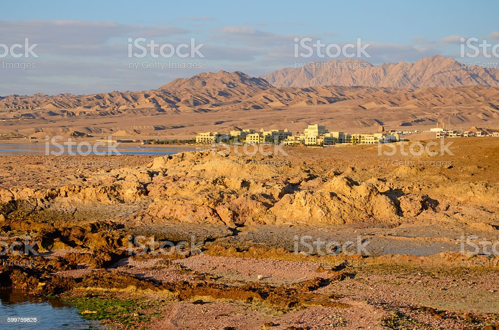 Aqaba stock photo