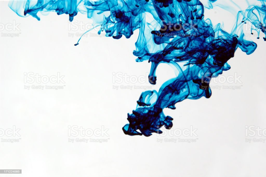 Aqua Art  (1 of  5) royalty-free stock photo