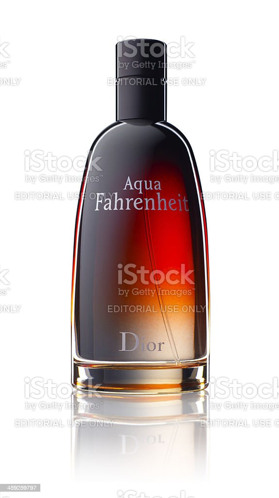 Aqua Fahrenheit DIOR royalty-free stock photo