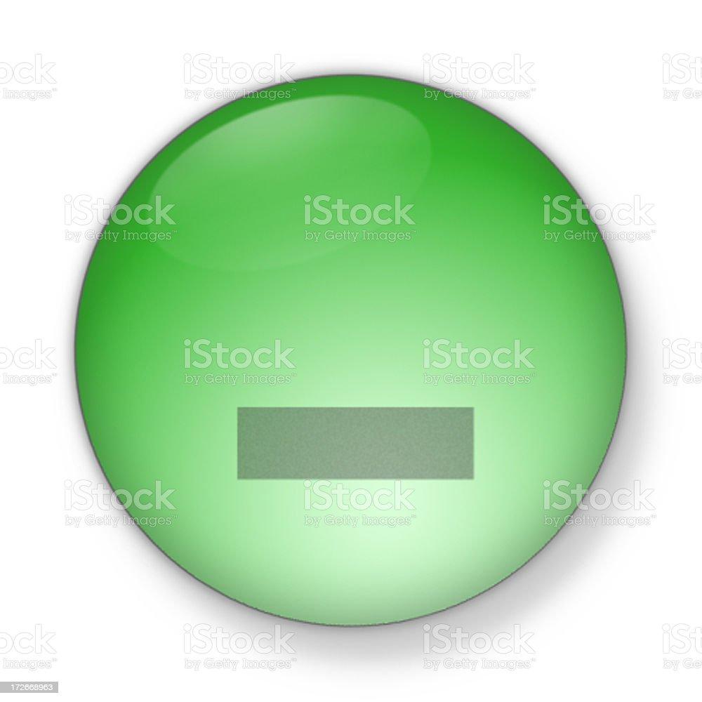 3D Aqua - minimize stock photo