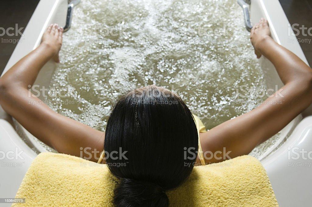 Aqua Therapy royalty-free stock photo