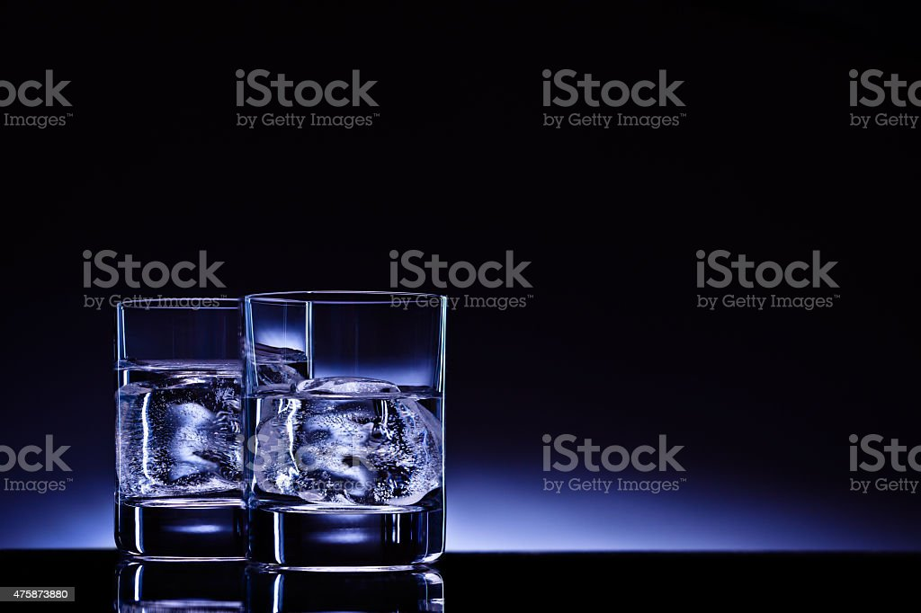 Aqua vitae! stock photo