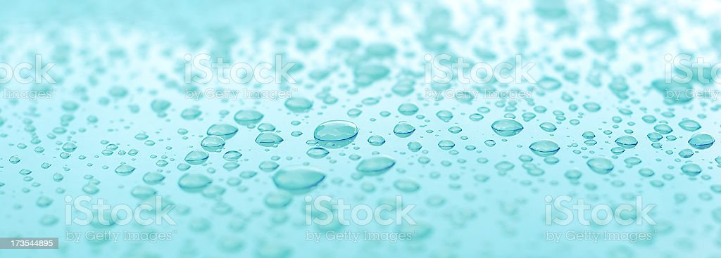 Aqua Water Droplets -01 stock photo