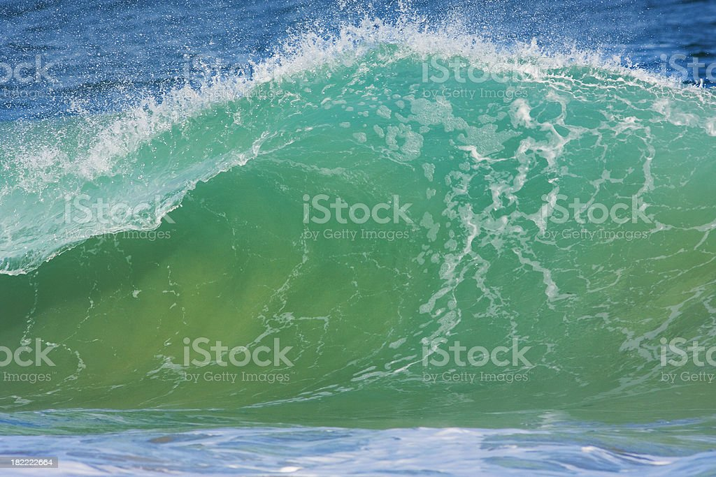 aqua wave stock photo