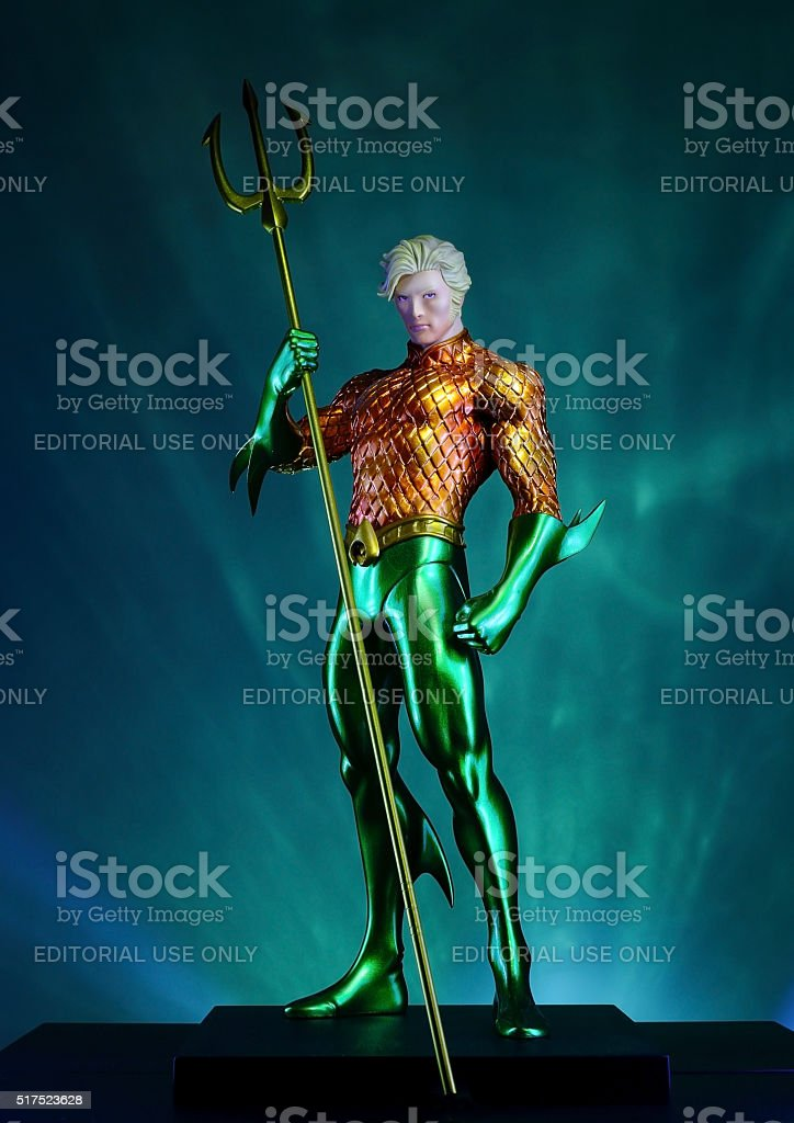 AquaMan stock photo
