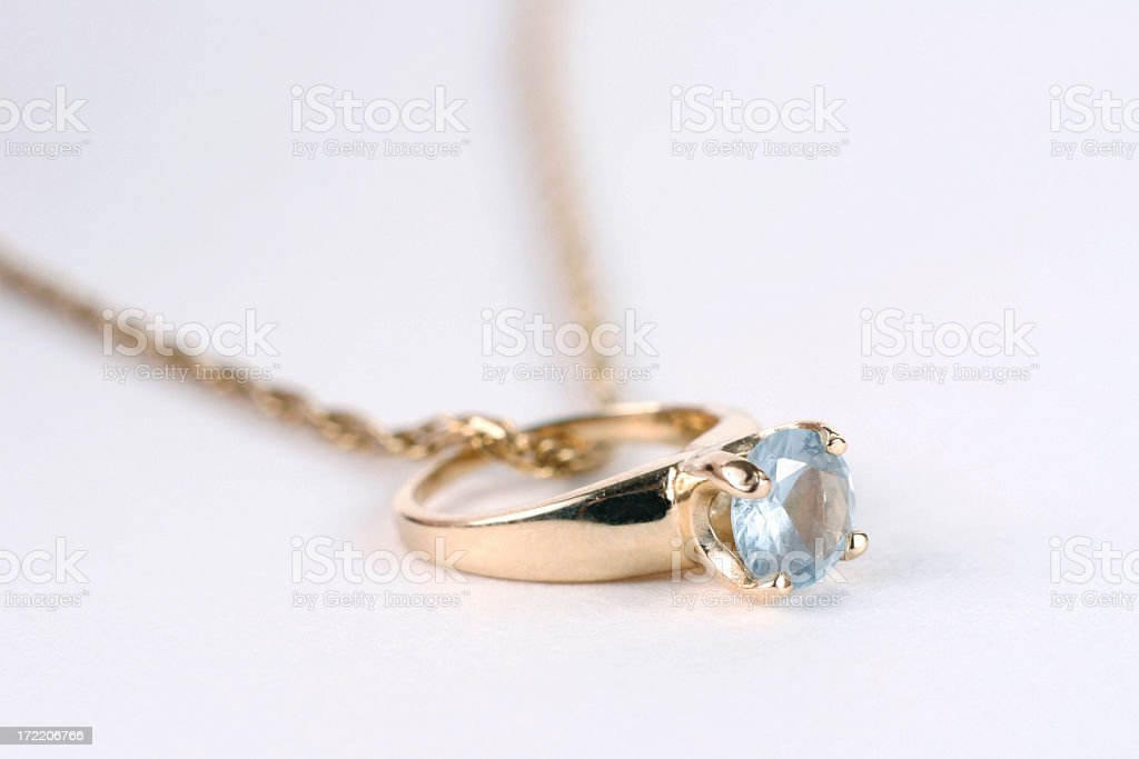 Aquamarine royalty-free stock photo