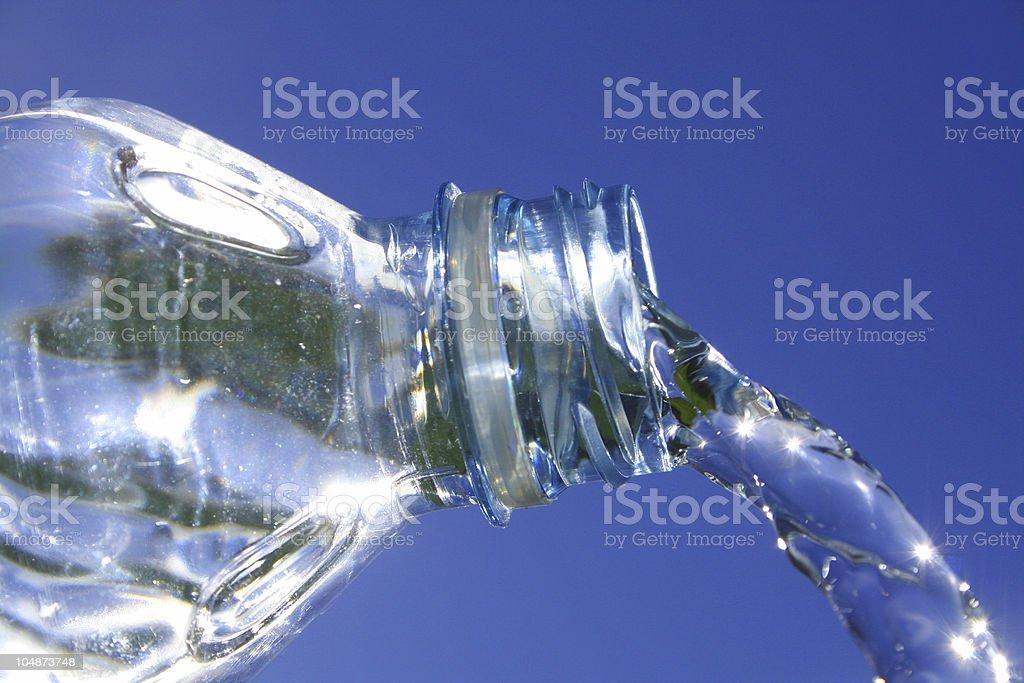 Aquatic refreshment royalty-free stock photo