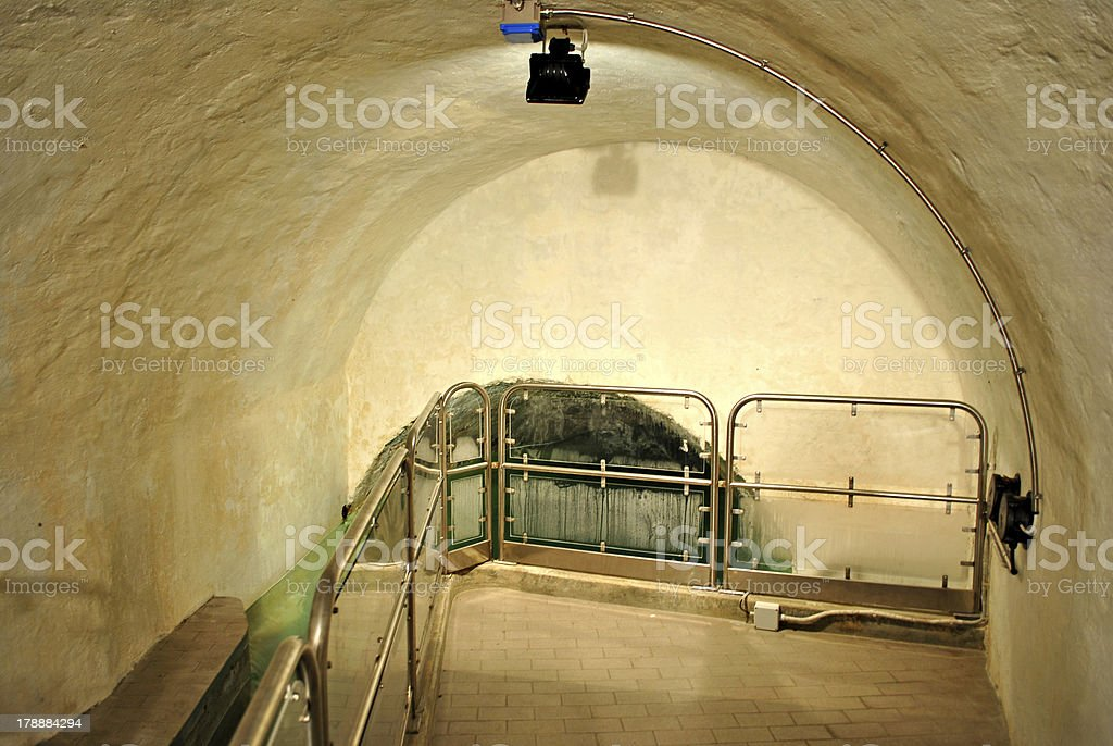 aqueduct for the purification royalty-free stock photo