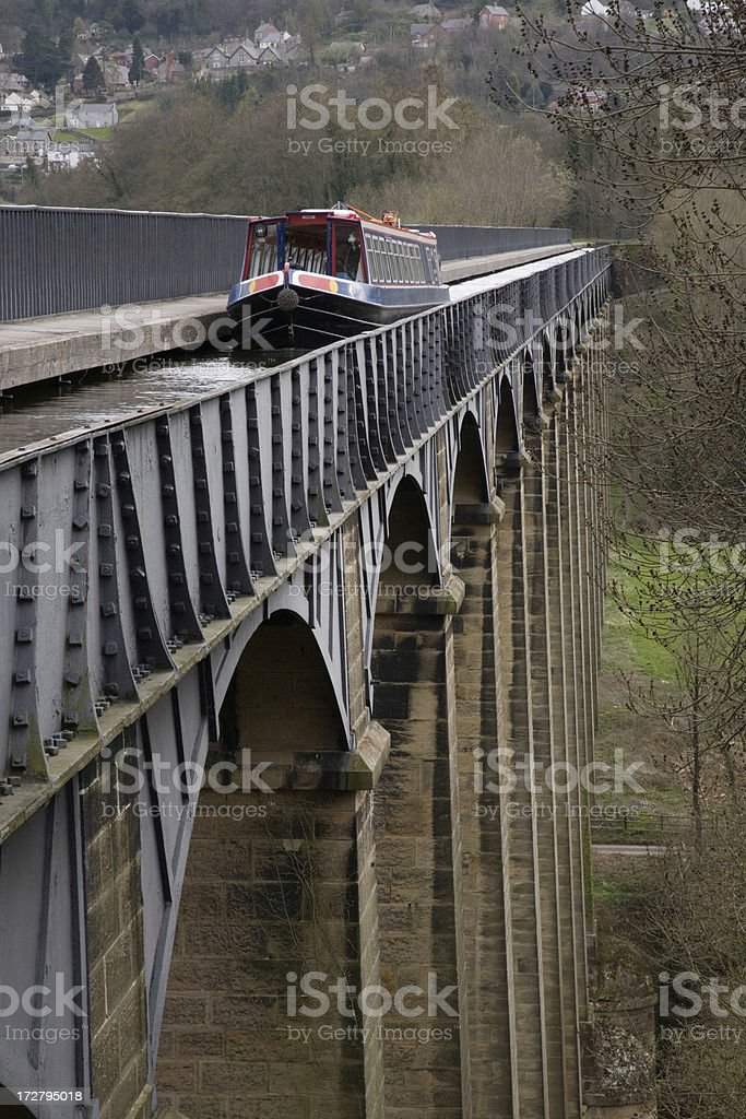 Aqueduct royalty-free stock photo