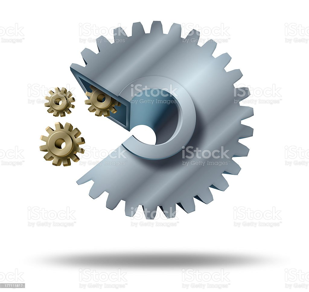 Aquisitions and mergers stock photo