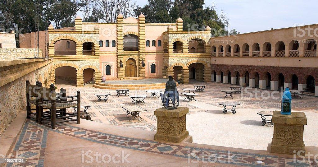 Arab architecture royalty-free stock photo