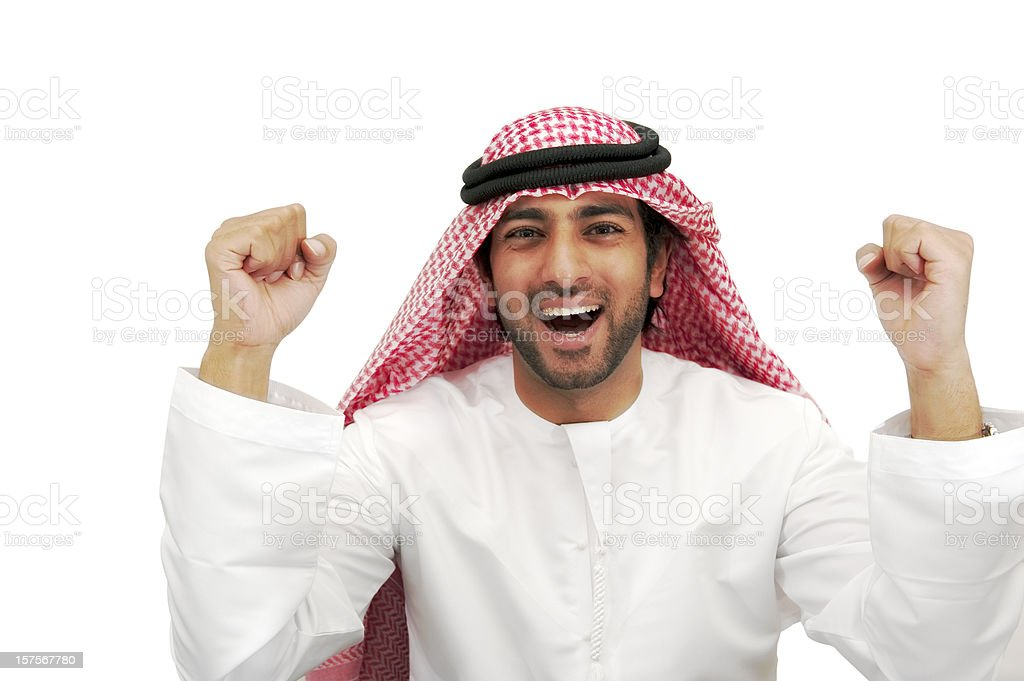 Arab business man royalty-free stock photo