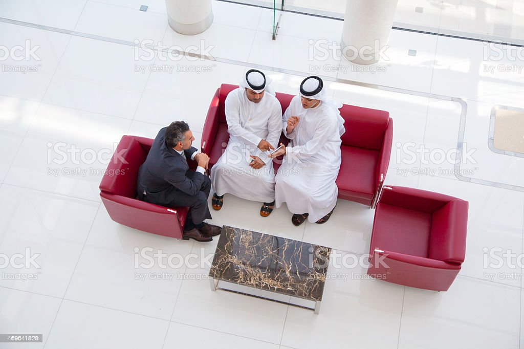 Arab business stock photo