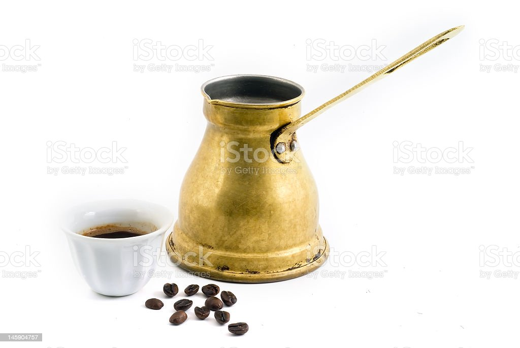 arab coffee royalty-free stock photo