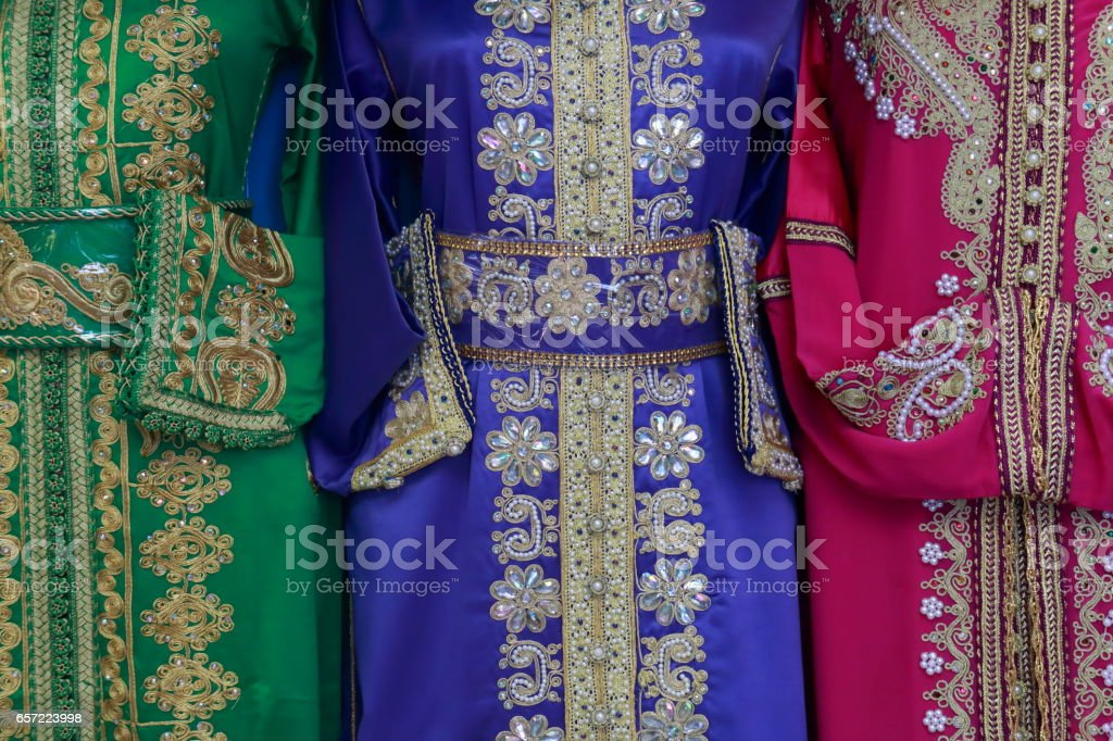 Arab dress stock photo