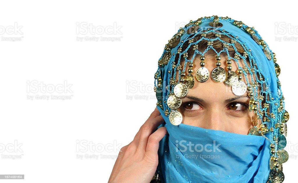 Arab girl royalty-free stock photo