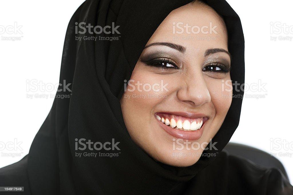 Arab lady royalty-free stock photo