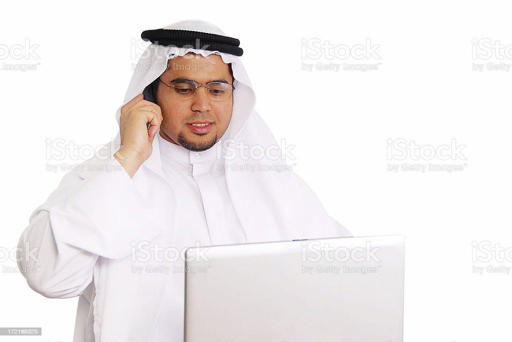 Arab man royalty-free stock photo