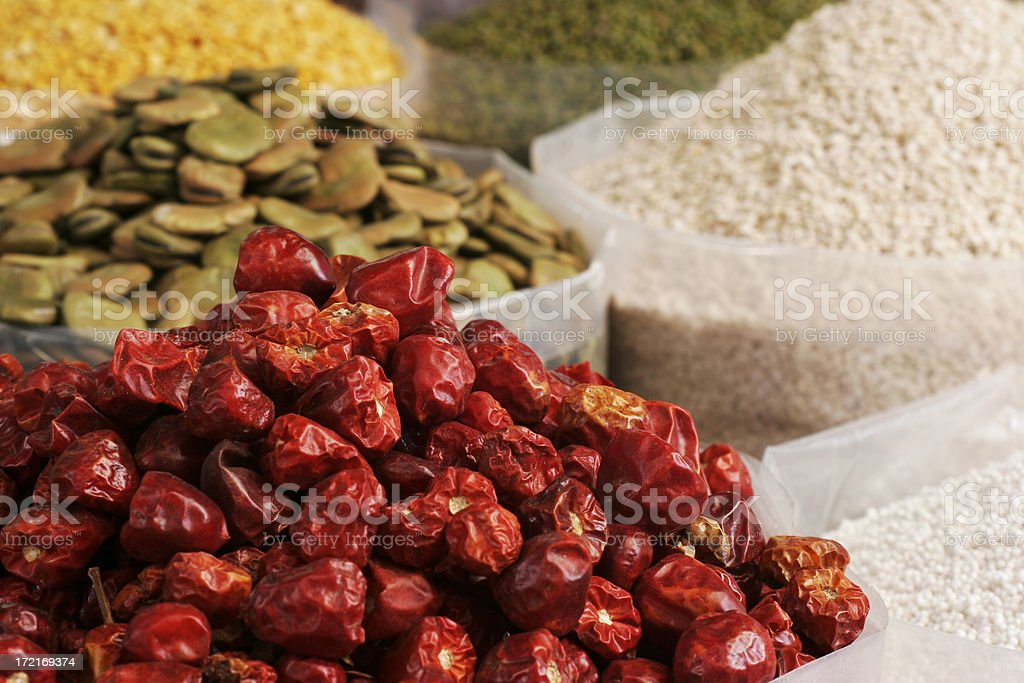 Arab Market royalty-free stock photo
