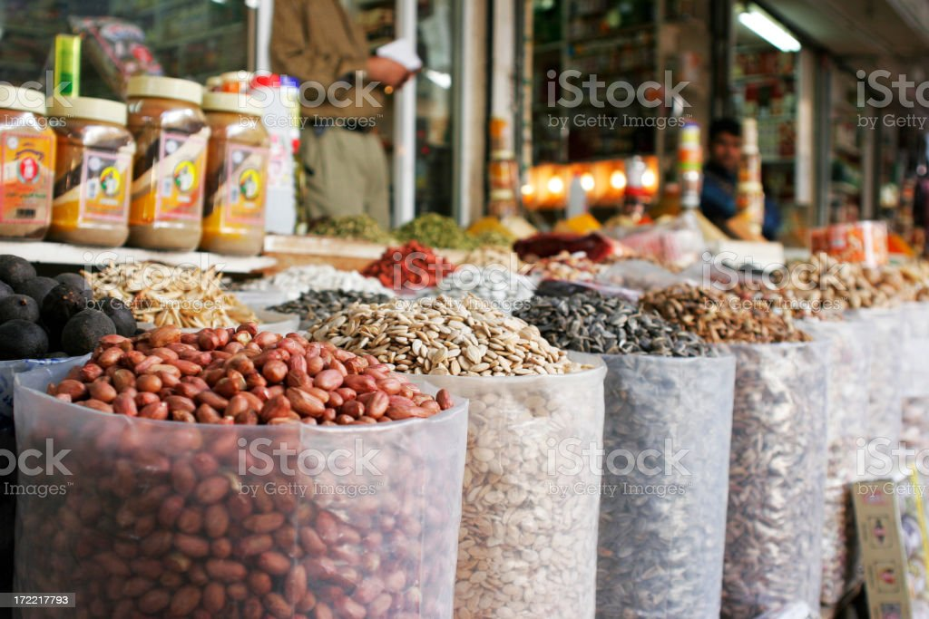 Arab Market stock photo