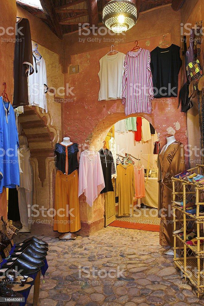 Arab shopping center royalty-free stock photo