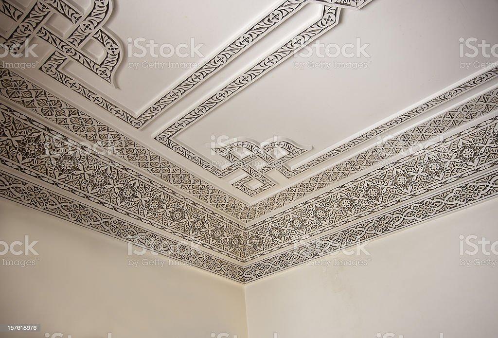 Arab stucco stock photo