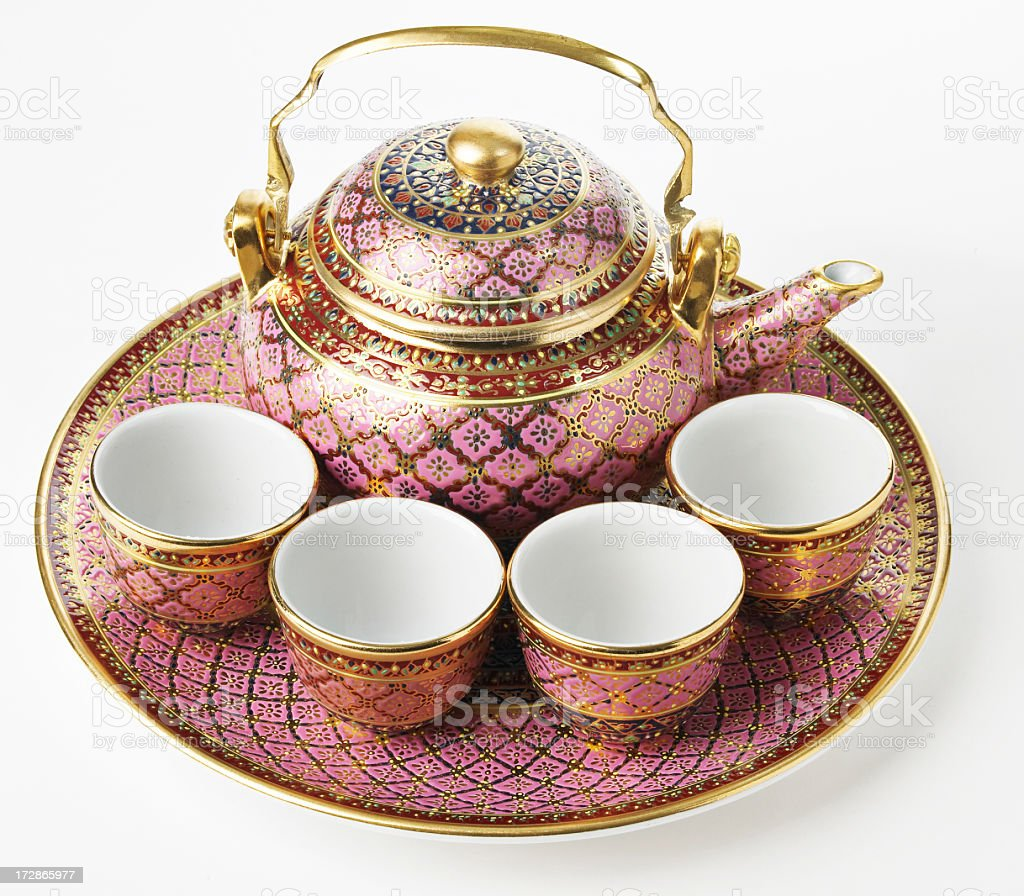 Arab Teaset... stock photo